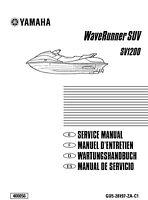 Yamaha Waverunner SUV SV1200 Repair Service Manual 1999 GU5-28197-ZA-C1 FREE S&H
