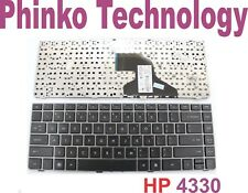 New Keyboard for HP HP Probook 4330S with Frame BLACK US layout