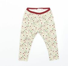 Zara Girls Yellow Floral  Trousers  Size 2-3 Years