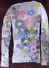Marc Cain Sports Netz T-Shirt, Gr. 34, Batic Optic mehrfarbig, wenig getr. neuw.