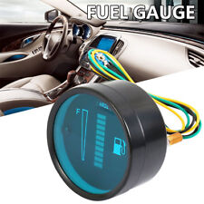 "Universal 2"" 52mm Car Motorcycle Fuel Level Meter Gauge LED Display Digital 12V"