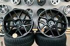New 18 Inch 5x112 Haxer Hx022 Rims Audi Mercedes Concave Wheels Black Bbs Vossen