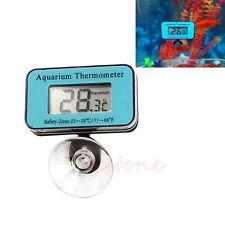 Digital Submersible Fish Tank Aquarium LCD Thermometer Temperature Meter