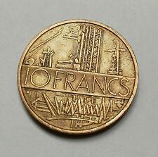 Pièce de monnaie 10 Francs Mathieu 1976 (B) - République Française