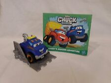 Tonka toy Chuck and Friends Handy Amazon Adventure book and Truck