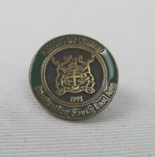 Hudson's Bay Company Lapel Pin Destination South East Asia 1992 Round