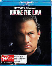ABOVE THE LAW BLU RAY - NEW & SEALED STEVEN SEAGAL, PAM GRIER, SHARON STONE,NICO