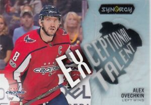 ALEXANDER OVECHKIN NO:ET-29 EXCEPTIONAL TALENT  in UD SYNERGY 2017-18