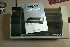 Commodore 64 Printer MPS 801 dot matrix