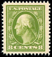 momen: US Stamps #380 Mint OG XF-SUP Jumbo