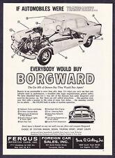 "1960 Borgward Sedan photo ""Everybody Would Buy"" promo print ad"