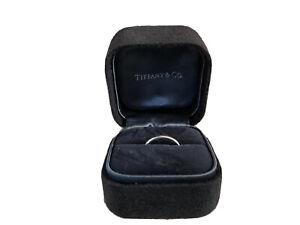 Tiffany Classic Platinum Wedding Band 2mm Wide Size J