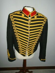 """KINGS TROOP RHA MENS TUNIC KASHKET AND PARTNERS CHEST APPROX 104CM 41"""""""