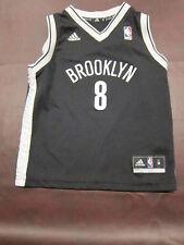 Adidas New Jersey New York Nets Deron Williams Basketball Jersey Kids Sz M 5/6
