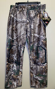 Under Armour Storm 3 Gore-Tex Camo Pants Realtree Waterproof Sz Large L NWT