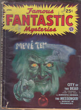 C1 FAMOUS FANTASTIC MYSTERIES 04 1948 SF Pulp LAWRENCE Groner FINLAY Chambers