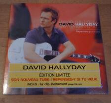 David Hallyday Repenses y si tu veux Edition limitée , Neuf sous blister