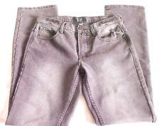 Urban Heritage Dark Grey Denim Jeans Mens Size W30 L32 Relaxed Fit