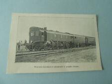 Nouvelle Locomotive Allemande grande vitesse 1904 Image Print