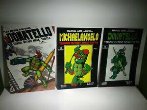 Lot of 3 Comic Donatello #1,3 Michaelangelo #2 TMNT Teenage Mutant Ninja Turtles