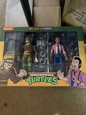 NECA TMNT Teenage Mutant Ninja Turtles Rat King vs Vernon 2-Pack Action Figure