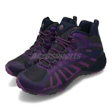 Merrell Siren Edge Q2 Mid Waterproof Acai Violet Women Outdoors Shoes J65420