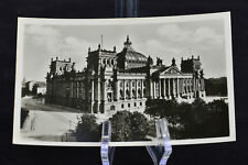 Postcard Berlin Reichstagsgebaude Germany BW RPPC