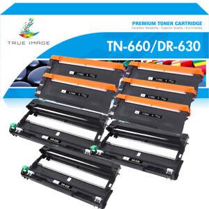 4 TN660 3 DR630 Drum Toner Compatible With Brother MFC-L2700DW HL-L2380DW L2300D