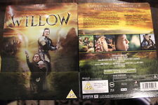 WILLOW SPECIAL EDITION RARE BLU-RAY WARWICK DAVIS GEORGE LUCAS FILM STEELBOOK