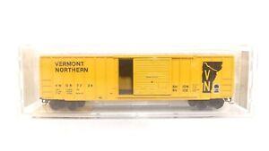 Kadee Micro Trains N VNOR VN Vermont Northern 50' Rib Side Train Box Car 25420