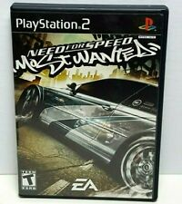 Need for Speed Most Wanted EA Games PS2 Playstation video 120lr-cb17