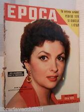 EPOCA 31 gennaio 1953 Gina Lollobrigida Zhdanov Trizzino Contessa di Castiglione