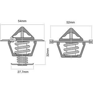 Tridon Thermostat Pair (High Flow) TTP1 fits Nissan X-Trail 2.5 (T32), 2.5 4x...