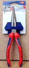 Knipex Flachrundzange Storchenschnabelzange mit Schneide 26 12 200