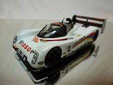 VITESSE PEUGEOT 905 RACE CAR - ALLIOT BALDI JABOUILLE - WHITE 1:43 - GOOD