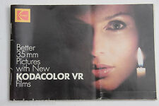 Kodak Better 35mm Pictures Kodacolor VR Films Book 122 3759 - English - USED B84
