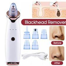 Face Pore Black head Clean Remover Vacuum Comedo Suction Skin Care Machine White