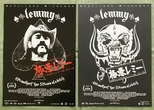 $0 ship! MOTORHEAD Japan PROMO flyer x 2 set MINI poster LEMMY more in stock