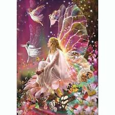Fairy DIY 5D Embroidery Diamond Cross Stitch Painting Home Decor Wall Craft