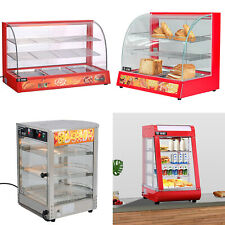 More details for 800w food showcase commercial hotfood warmer display for pizza pie pastry warmer