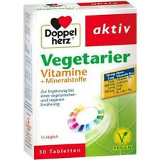 DOPPELHERZ Vegetarier Vitamine+Mineralstoffe Tabl. 30 St 10177082