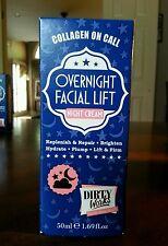 Dirty Works Collagen on Call Overnight Facial Lift Night Cream 1.69 fl oz/50 ml
