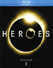 Heroes Season 1 Blu-Ray DVD  with Interactive Features and Bonus Content