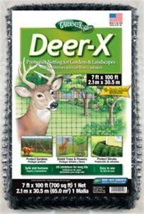 Gardeneer Dx-7 7' X 100' Deer-X® Netting,No DX-7           ,  Gardeneer