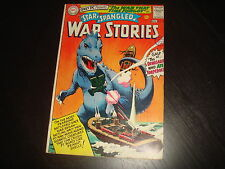 STAR-SPANGLED WAR STORIES #123 That Time Forgot Silver Age  DC Comics 1965 FN