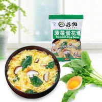 Instant Vegetable Egg Soup Fast Food Different Tastes New Delicious Health Food