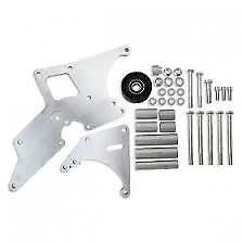 GM Car LS1/LS2 Alternator & Power Steering Relocation Bracket Blillet  #81201