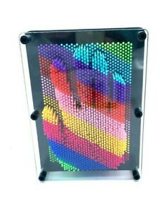 Plastic 3D Pin Art Rainbow Colour Games Executive Toys & Gadgets gifts