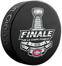 Montreal Canadiens 2021 Stanley Cup Finals Souvenir Hockey Puck (French)