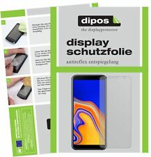 3+3x Samsung Galaxy J4 Plus (2018) Screen Protector Protection Anti Glare dipos